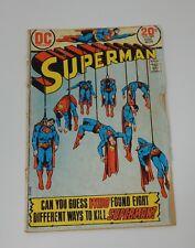 Starting @ $1.00 DC Comics Superman #269