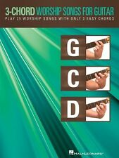 3 Chord Worship Songs For Guitar Learn to Play Piano Gospel Lyrics Music Book
