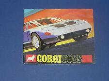 CORGI 1970 CATALOG