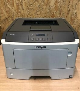 Lexmark MS410dn monochrome laser printer Low page counter 863 copies