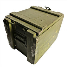 VINTAGE WOODED SMALL ARMS AMMO BOX (EMPTY)