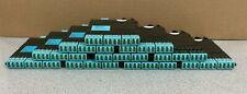 Lot of 10 - Corning ECM-UM12-05-93T 12 Fiber LC Duplex to MTP Connector Module