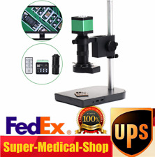 48MP 1080P 60FPS HDMI USB Industrial Microscope Digital Video Camera+100X Lens