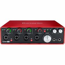 Focusrite Scarlett 18i8 USB 2.0 Audio Interface (2nd Generation) Brand New!