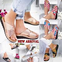 Women Lady Beach Sandals Comfy Platform Sandal Shoes For Bunion Corrector Mules