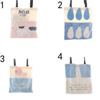 Shopping Bag Practical Handbag Casual Tote Bags Canvas Lady Fashion Shoulder Bag