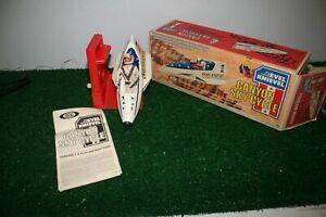 Vintage 1974 Evel Knievel Canyon Sky Cycle w/ figure original box instructions