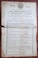 ORLEANS AN6 document identifiant les signatures des administrateurs du LOIRET
