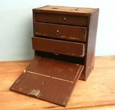 CHEST OF DRAWERS BOX TOOL RUSTIC CABINET STORAGE VINTAGE ARTISAN GARAGE