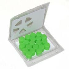 20 Verde Silicone Tappo Bullone Dado Ruota Copertura 17mm per Rover 25 75 200