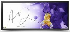 """ANTHONY DAVIS Autographed Los Angeles Lakers 46"""" x 20"""" Framed The Show UDA"""