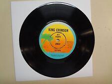 "KING CRIMSON: Epitaph-21st Century Schizoid Man-U.K. 7"" 1976 Island WIP 6274 DJ"