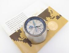 .Vintage 1973 Omega Steel Speedmaster Mark III Chronograph Watch 176.002 +Papers