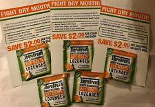 TheraBreath Dry Mouth Lozenges Sample Packs + Bonus