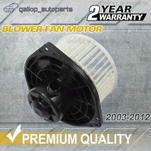 Cabin Blower Fan Motor For Holden Colorado RC Rodeo RA Isuzu D Max 2003-2012 NEW
