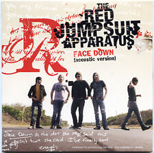 RED JUMPSUIT APPARATUS Face Down advance promo 2007 CD Acoustic Version