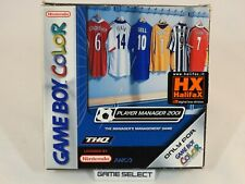 PLAYER MANAGER 2001 GAME BOY COLOR GBC e ADVANCE GBA PAL EUR ITALIANO COMPLETO