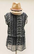 H&M SNAKE Animal Print Mini Dress - Size 8/10 Eur 36