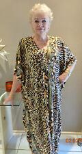 Long  Kaftan/Caftan dress Designed in Australia Boho,Grecian plus size 24-34 New