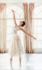 LetiStitch Counted Cross Stitch Kit - LETI 906 Ballerina