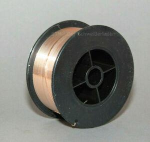 CuSi3 Draht 0,8 mm 1Kg Schweißdraht D100 Spule Rolle 2.1461 zum Mig Löten
