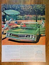 1960 Pontiac Bonneville Vista Ad   at the Tennis Courts    AF/VK