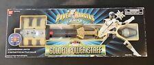 1996 Power Rangers Zeo Golden Power Staff NIB