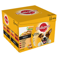 Pedigree Adulto Húmedo comida de perro-Real comidas en salsa - 24 X 100g