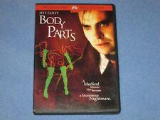 BODY PARTS (DVD, 2004) ***Rare, OOP!*** Jeff Fahey (1991) HORROR