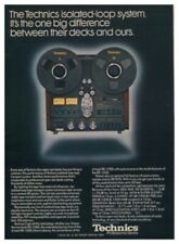 Technics RS-1506 Original Tape Deck Ad & Lab Report for the RS-1500