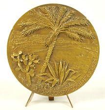 Médaille Vue du port d'Alger c 1945 à Albert SEZARY (1880-1956)  sc Dropsy Medal