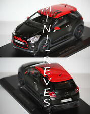 Norev Citroën DS3 Racing 2012 S. Loeb noir/rouge 1/18 181543 18