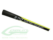 Carbon Yellow Tail Boom H9043-S