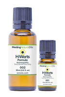#1 Wart Remover Alternative - H-Warts Formula - All Natural Wart Treatment