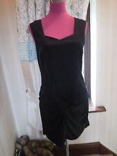 Beautiful All Saints Eveline Dress Black Size 8 BNWOT