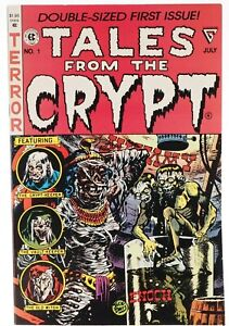 👀 1990 TALES FROM THE CRYPT Double Sized First Issue Gladstone Comics NM 👀🎉💎
