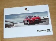 Porsche Panamera GTS Price List 2012 - UK Market