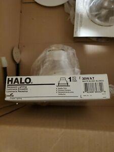 "(2 LOT) HALO 30WAT 6"" Air-Tite Baffle Recessed Ceiling Fixture Trim"
