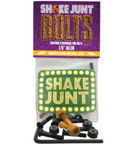 """SHAKE JUNT - BRAYDON SZAFRANSKI PRO BOLTS - 7/8"""" ALLEN SKATEBOARD 8 PACK BAKER"""