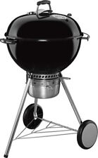 Weber 22 in. Master-Touch Charcoal Grill Black Built-In Thermometer Outdoor Cook