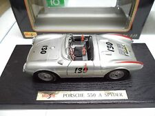"""LITTLE BASTARD"" Porsche 550 A SPYDER #130 JAMES DEAN Custom Built 1/18 Maisto"