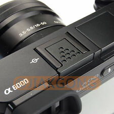 Metal Black Hot Shoe Cover for Sony A6500 A6300 A6000 A7RM2 A77M2 NEX-6 Camera
