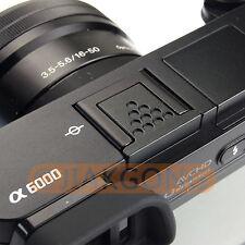 Metal Black Hot Shoe Cover for Sony A6500 A6300 A6000 A7RM2 A77M2 NEX-6 Camera