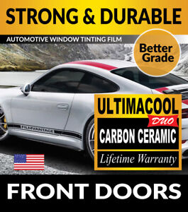 UCD PRECUT FRONT DOORS WINDOW TINTING TINT FILM FOR HUMMER H3T 09-10