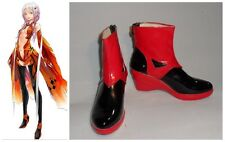 Guilty Crown Inori Yuzuriha Cosplay Costume Boots Boot Shoes Shoe