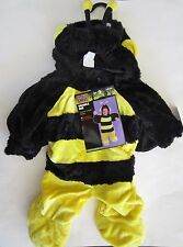 Plush Bumble Bee Infant Costume - Complete - Size 6-12 months NWT
