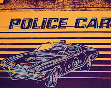 Andy Warhol - Police Car, 1983 - Pop Art Print Poster 11x14