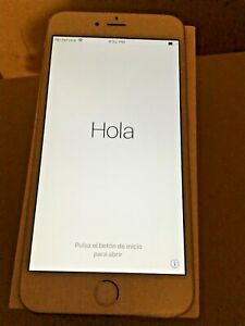 Apple iPhone 6 Plus 32gB white color A1522 locked. read item description