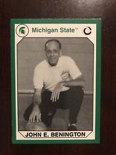 1990 Michigan State Spartans Collegiate Collection 200 #151 - John E. Benington