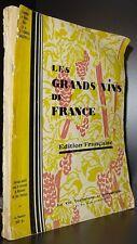 DES OMBIAUX; Les grands vins de France / 1929